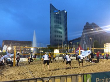 Beach-Volleyball-Turnier 2019
